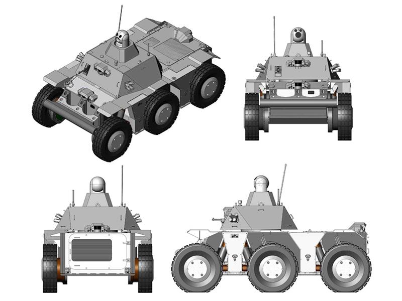 Autonomous Platform Demonstrator National Robotics