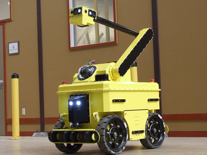 Sensabot Inspection Robot