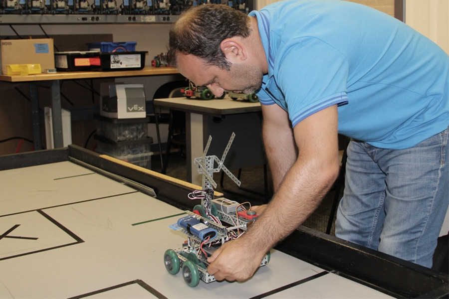 The Robotics Academy at the National Robotics Engineering Center (NREC).