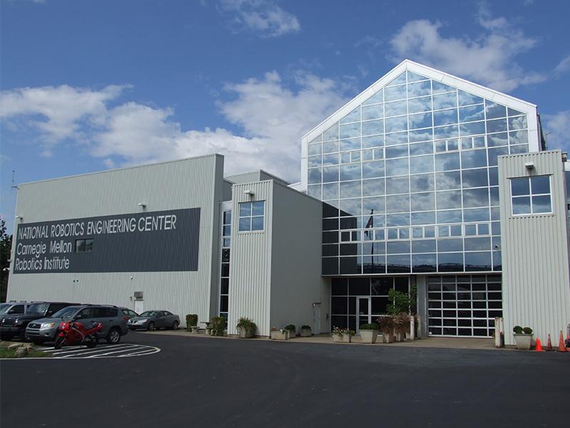 About National Robotics Engineering Center Carnegie